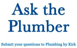 Ask The Plumber banner